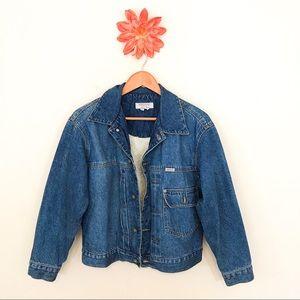 GUESS JEANS Vintage Soft Lined Denim Jacket